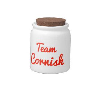 Team Cornish Candy Jars