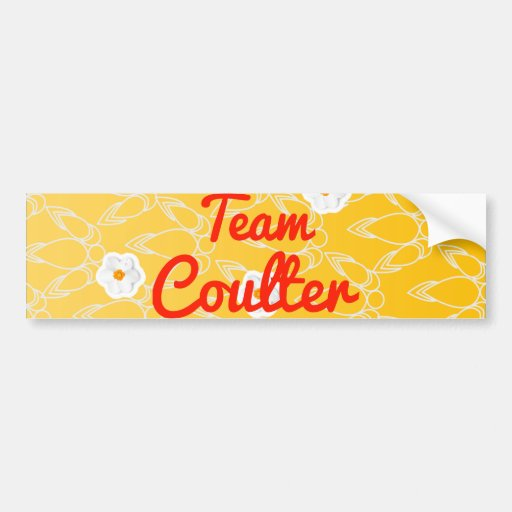 Team Coulter Bumper Stickers