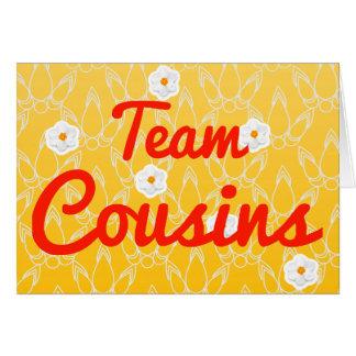 Team Cousins Card