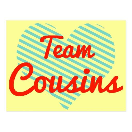 Team Cousins Post Card