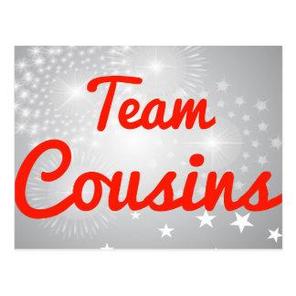 Team Cousins Postcard