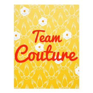 Team Couture 21.5 Cm X 28 Cm Flyer