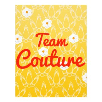 Team Couture Flyer