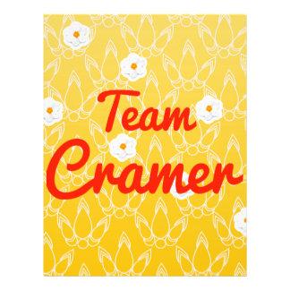Team Cramer Full Color Flyer