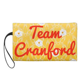 Team Cranford Wristlet Clutches