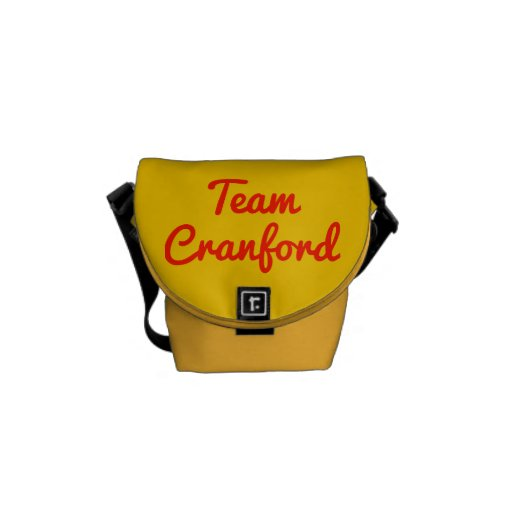 Team Cranford Courier Bags