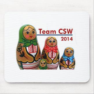 Team CSW Mousepad