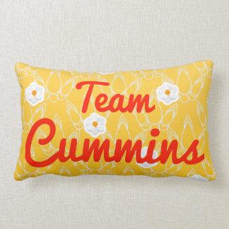 Team Cummins Throw Pillow