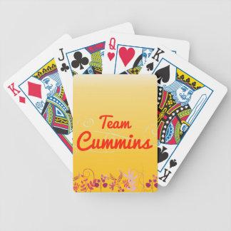 Team Cummins Poker Cards