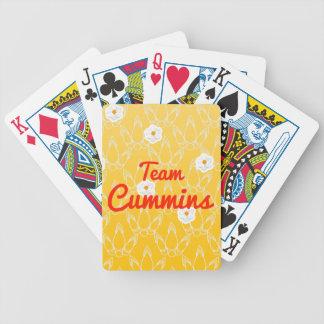 Team Cummins Deck Of Cards