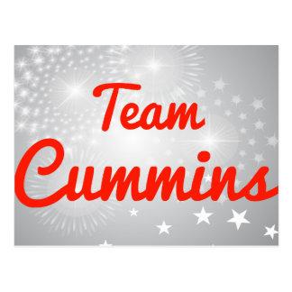 Team Cummins Post Card