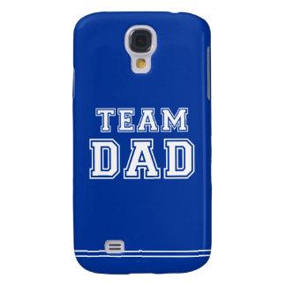 Team Dad in blue Galaxy S4 Case