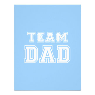 Team Dad in blue Announcements