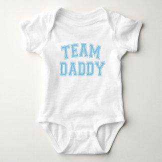 Team Daddy - Baby Blue Baby Bodysuit