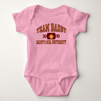 """Team Daddy"" Baby Bodysuit"