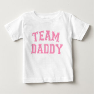 Team Daddy - Bubblegum Pink Baby T-Shirt