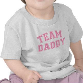 Team Daddy - Bubblegum Pink Tee Shirt