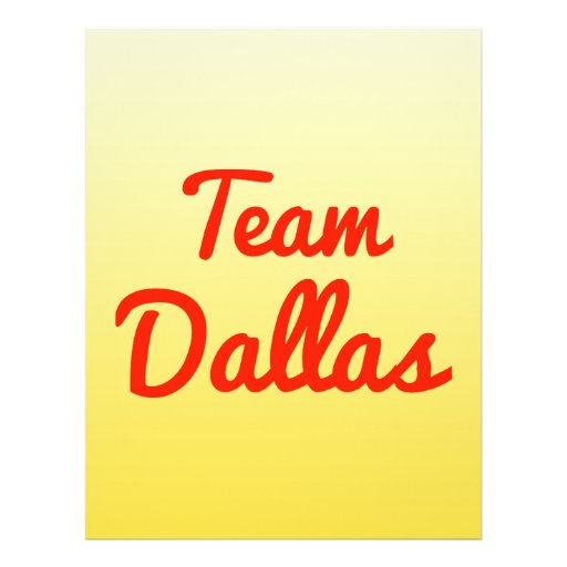 Team Dallas Flyer