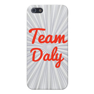Team Daly iPhone 5 Cover