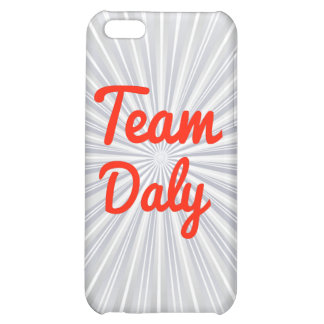 Team Daly iPhone 5C Cases