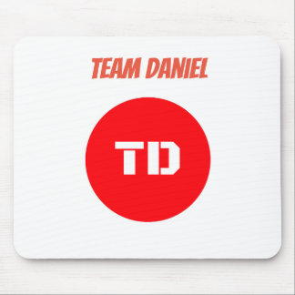 Team Daniel Mouse Pad