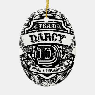 Team Darcy Christmas Ornament