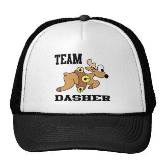 Team Dasher Reindeer Mesh Hats