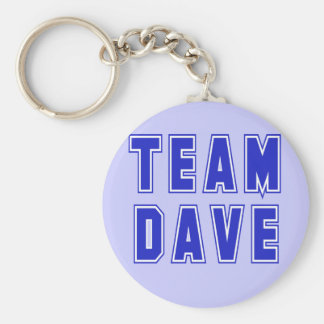 Team Dave T shirts and Products Key Ring