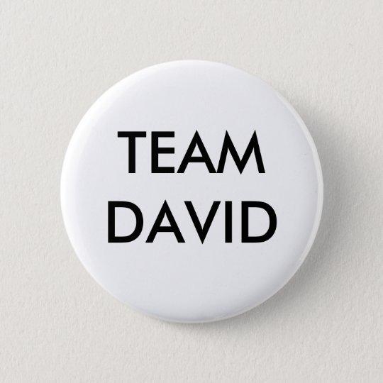TEAM DAVID 6 CM ROUND BADGE