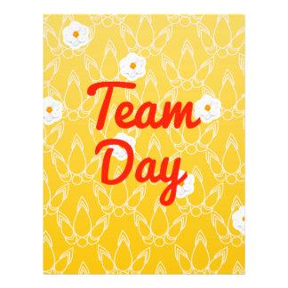 Team Day 21.5 Cm X 28 Cm Flyer