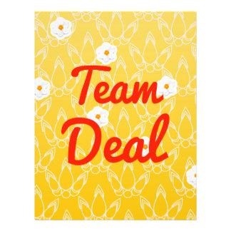 Team Deal Custom Flyer