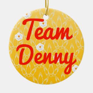 Team Denny Christmas Ornament
