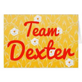 Team Dexter Cards