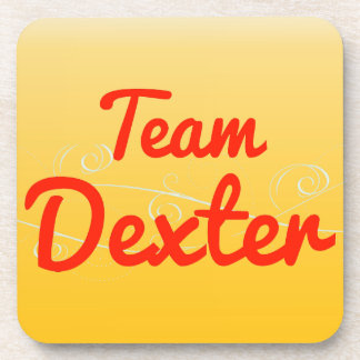 Team Dexter Beverage Coasters
