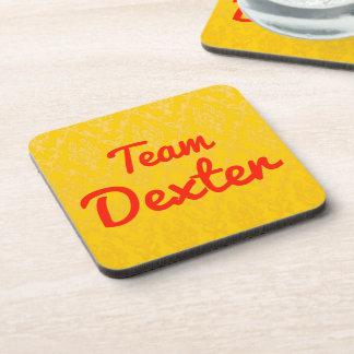Team Dexter Beverage Coaster