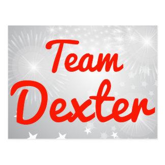 Team Dexter Postcard