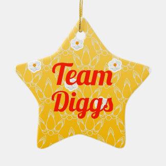 Team Diggs Christmas Ornaments