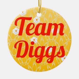 Team Diggs Christmas Ornament