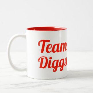 Team Diggs Coffee Mugs