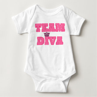 Team Diva Baby T-shirt