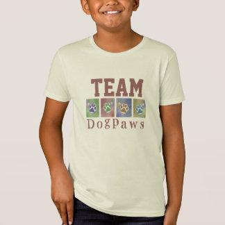 TEAM Dog Paws Organic Tee Shirt