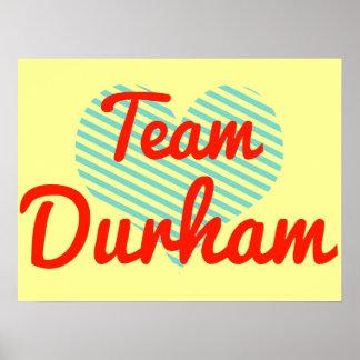 Team Durham Poster