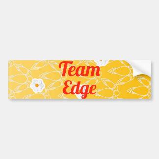 Team Edge Bumper Stickers