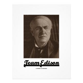 Team Edison (Thomas Alva Edison) Flyer