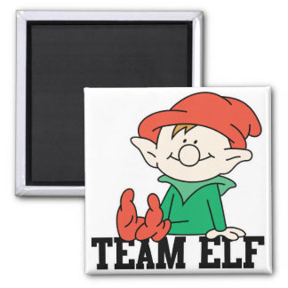 TEAM ELF SQUARE MAGNET