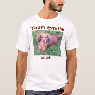 Team Emilie T-shirt Design