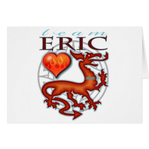 Team Eric Greeting Card