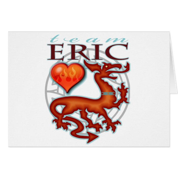 Team Eric Greeting Card