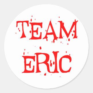 Team Eric Round Sticker