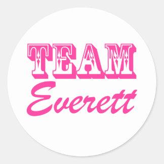 Team Everett Stickers
